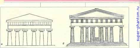 А храм аполлона на о ортигии б храм d